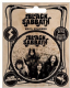 Pack of 5 Black Sabbath vinyl peel off decals / stickers    (py)